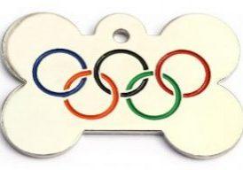 Olympic Dog Tag